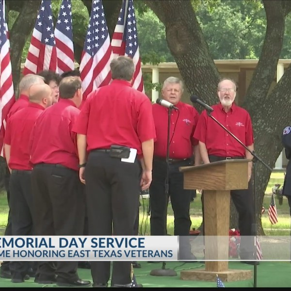 REMEMBERING THE FALLEN: Tyler Memorial Funeral Home holds Memorial Day service