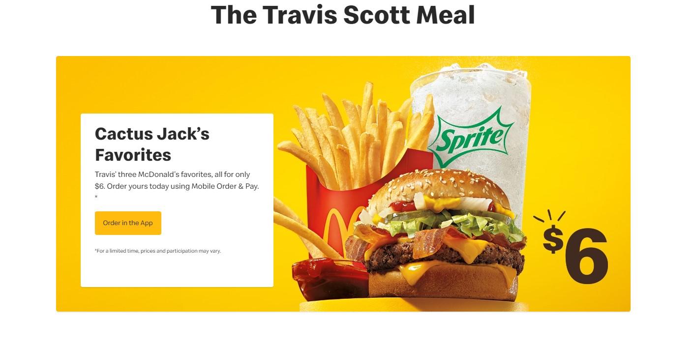 Mcdonald S Releases New Travis Scott Meal Ketk Com Fox51 Com