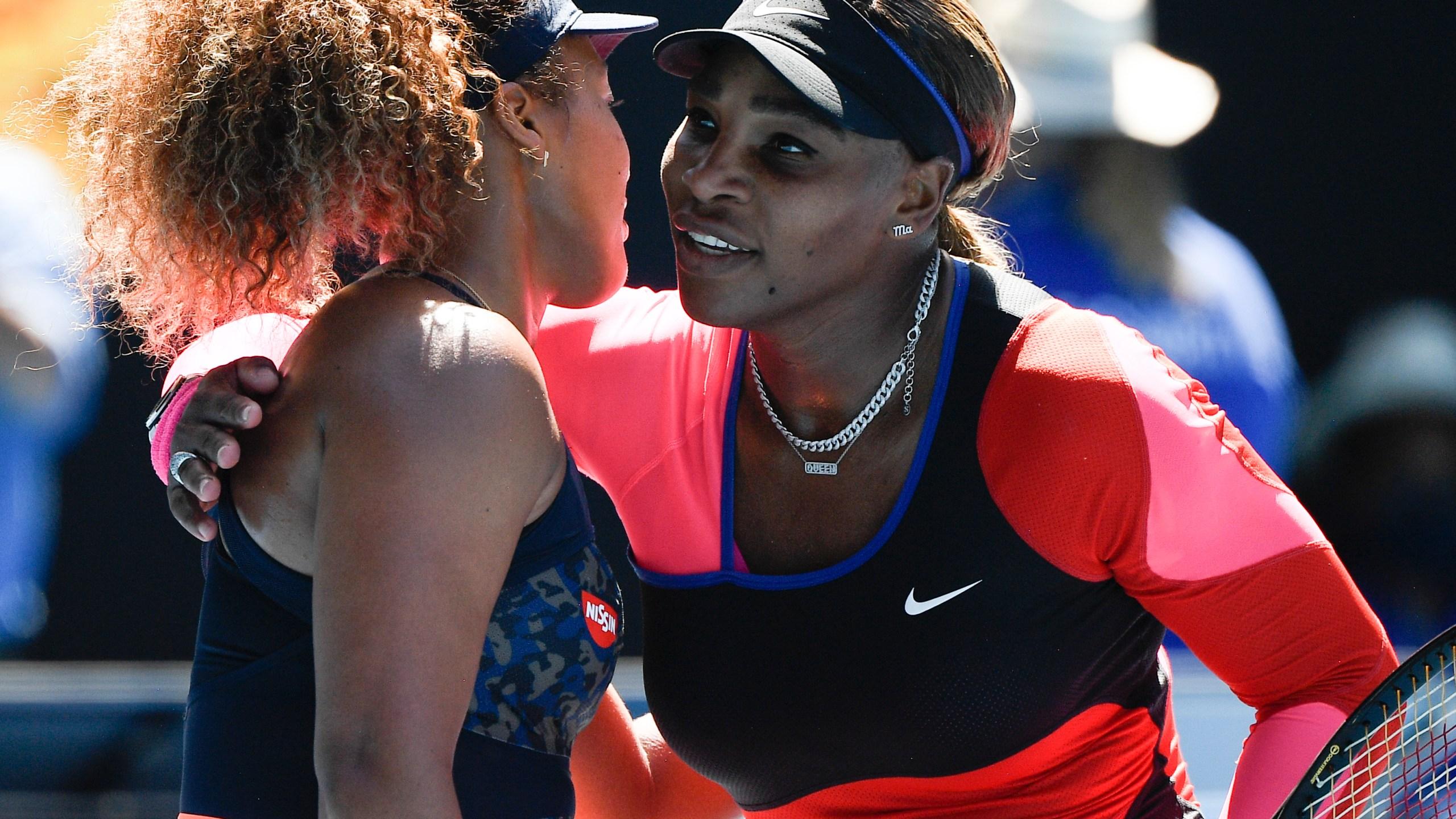 Naomi Osaka, Serena Williams