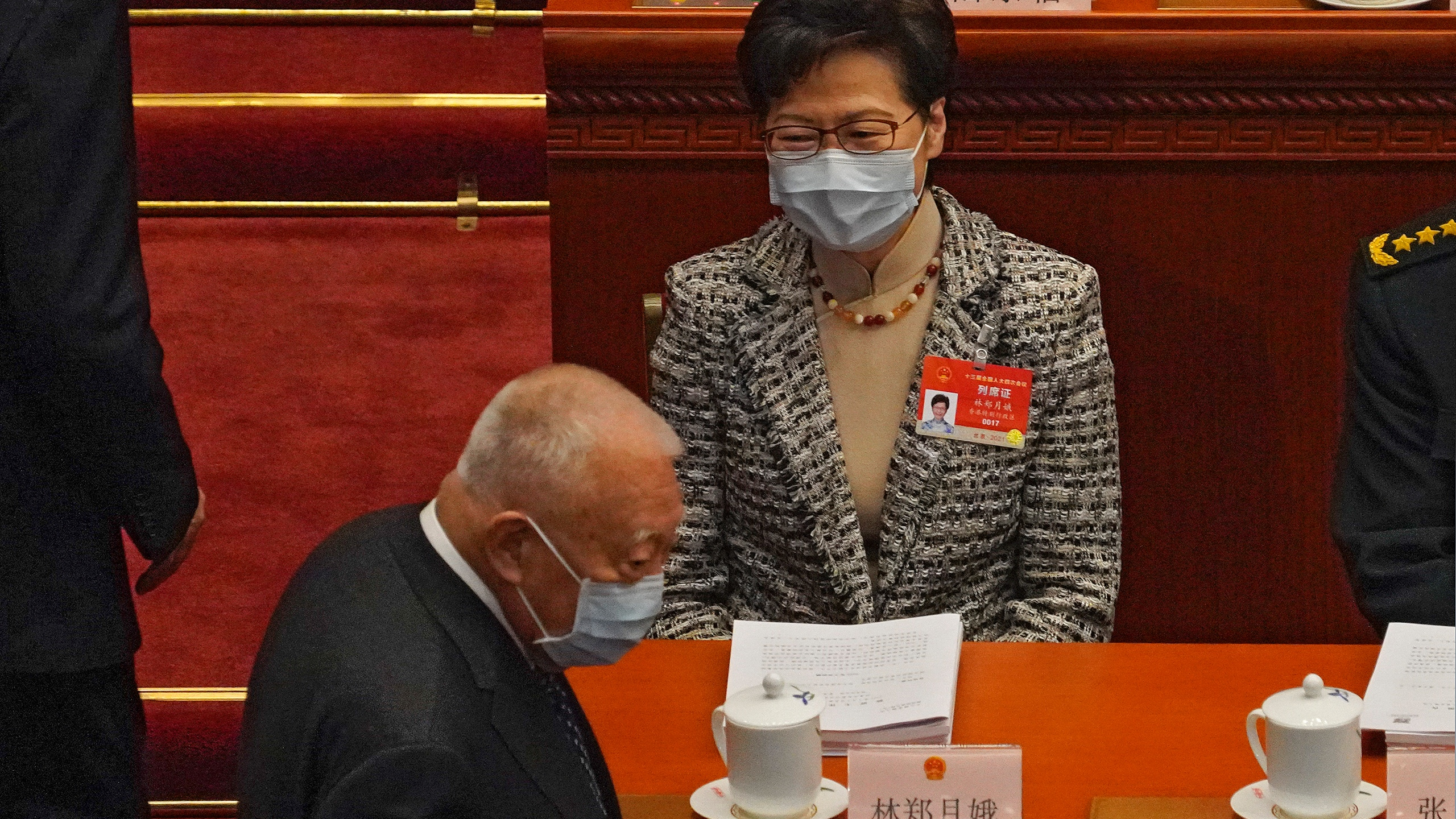 Carrie Lam, Tung Chee-hwa